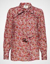 Lexington Clothing Janina Red Flower Blouse