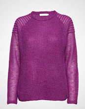 Coster Copenhagen Sweater In Thin And Thick Kid Mohair W. Ripple Detail