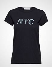 Rag & Bone New York Tee T-shirts & Tops Short-sleeved Svart RAG & B