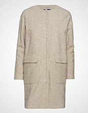 Gant O2. Collarless Boiled Wool Coat