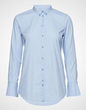 Mos Mosh Nela Shirt Langermet Skjorte Blå MOS MOSH