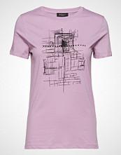 Bruuns Bazaar Cleo Tee T-shirts & Tops Short-sleeved Rosa BRUUNS BAZAAR