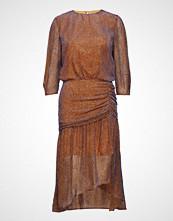Valerie Bashi Dress Knelang Kjole Oransje VALERIE