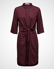 Coster Copenhagen Shirt Dress W. Tie Knot And Drape
