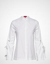 HUGO Erilia Langermet Skjorte Hvit HUGO