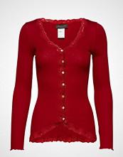 Rosemunde Silk Cardigan Regular Ls W/Rev Vint