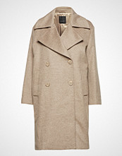Sand Cashmere Coat W  - Anke