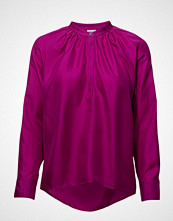 Filippa K Gathered Silk Blouse