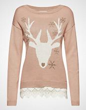 Cream Reindeer Pullover