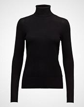 Saint Tropez Roller Neck Sweater Høyhalset Pologenser Svart SAINT TROPEZ