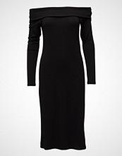 Diana Orving Rib Neck Dress