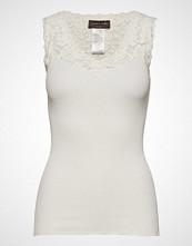 Rosemunde Silk Top Regular W/ Vintage Lace