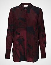 Stine Goya Virgo, 489 Filmography Silk Langermet Skjorte Rød STINE GOYA