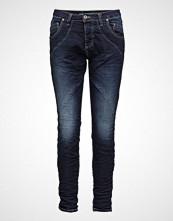 Please Jeans Nc Jog Blue D Slim Jeans Blå PLEASE JEANS