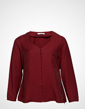 Violeta by Mango Buttoned Textured Blouse