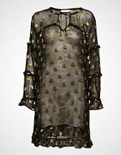 Coster Copenhagen Dress In Camouflage Print W. Ruffles