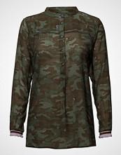 Coster Copenhagen Shirt In Camouflage Print W. Lurex