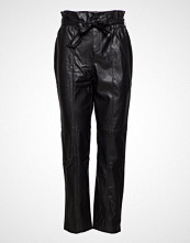 Mango Seam-Detail Straight-Fit Trousers