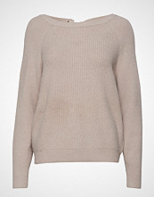 Vila Visia Knit Laced Up Back L/S Top