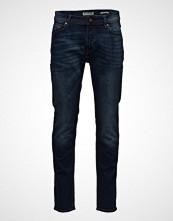 Mango Man Slim-Fit Faded Dark Wash Jan Jeans