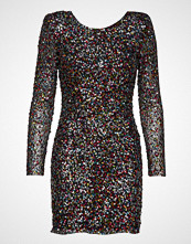 Mango Scoop-Back Sequin Dress