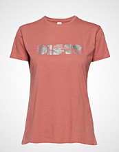 Custommade Panita Disco T-shirts & Tops Short-sleeved Rosa CUSTOMMADE