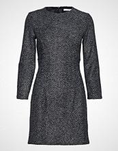 Mango Herringbone Wool-Blend Dress