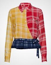 Hilfiger Collection Madras Wrap Shirt, 9 Bluse Langermet Multi/mønstret HILFIGER COLLECTION
