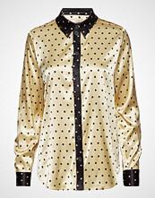 Stine Goya Maxwell, 464 Viscose Langermet Skjorte Gul STINE GOYA