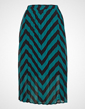 Selected Femme Slfella Mw Plisse Skirt Ex