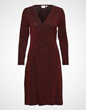 Saint Tropez Shimmer Dress W Knot