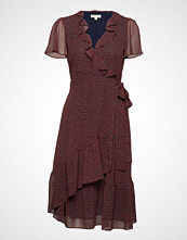 Michael Kors Ruffle Wrap Dress
