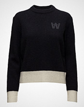 Wood Wood Anneli Sweater Strikket Genser Blå WOOD WOOD