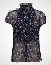 Saint Tropez Small Flower P Ruffle Blouse