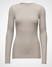 Bruuns Bazaar Angela Ls T-Shirt Strikket Genser Creme BRUUNS BAZAAR