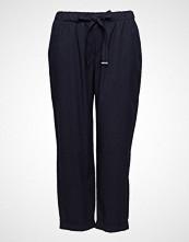 Violeta by Mango Chalk-Stripe Trousers