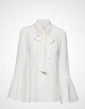 Michael Kors Bell Slv Silk Top
