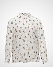 Violeta by Mango Printed Flowy Shirt