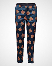 Scotch & Soda Tailored Pants In Special Snow Leopard Jacquard