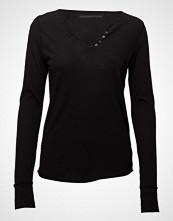 Zadig & Voltaire Tunisien Ml Strass Tdm Per Tee Shirt Coton