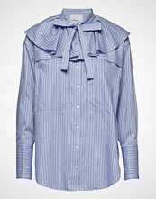 3.1 Phillip Lim Ls Striped Shirt W Ruffle Collar