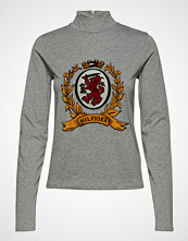 Hilfiger Collection Luxury Crest Mock Neck Tshirt Ls