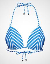 Polo Ralph Lauren Swimwear Pique Stripe Mold Cup Triangle