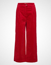 Just Female Ludvine Trousers Vide Bukser Rød JUST FEMALE
