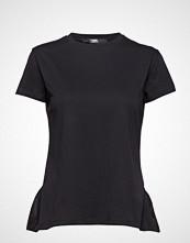 Karl Lagerfeld Logo Collar T-Shirt
