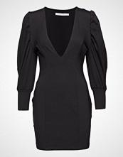 Ivyrevel V Neck Puff Sleeve Mini Dress