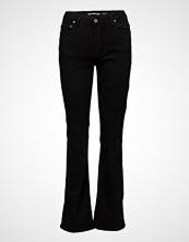 Please Jeans Longcut Nero Denim Jeans Boot Cut Svart PLEASE JEANS