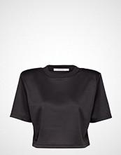 Ivyrevel Boxy Sport Mesh Top T-shirts & Tops Short-sleeved Svart IVYREVEL