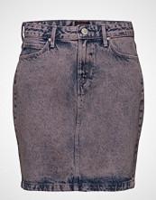Lee Jeans Mid Skirt Kort Skjørt Rosa LEE JEANS