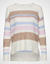 Cream Zoey Stripes Knit Pullover
